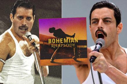 29 let od smrti Freddieho Mercuryho (†45)! Co si slavný film o něm vycucal z prstu?