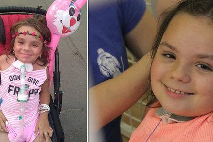 Malá Dominika po nehodě bojovala o život: Je odkázaná na dýchací přístroj, pomůže terapie?