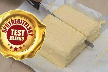 Spotřebitelský test másel: Ovlivňuje cena kvalitu? Která byla žluklá?