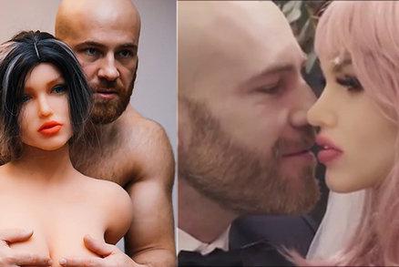 Chlupatý kulturista s propíchnutou bradavkou se oženil: Vzal si sexuální pannu!