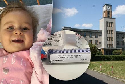 Lucince (13 měs.) se SMA pomohl nejdražší lék světa: Kvůli koronaviru hrozilo, že ho nedostane!