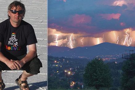 Unikátní foto bouře u Jablunkova: Zámečník Martin vyhrál soutěž akademiků a fotil i duchy