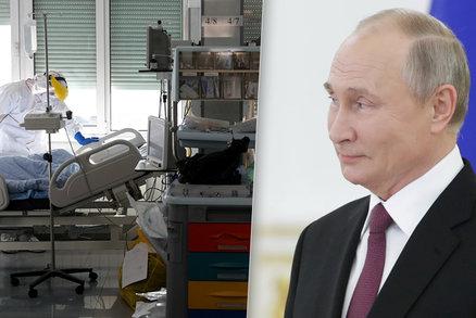 """Tisíce mrtvých v Rusku, Putin mezi lidmi bez roušky. """"Přijali jsme opatření,"""" tvrdí Kreml"""