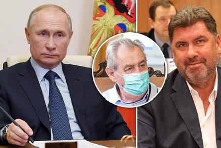 Zemanův poradce jednal v Moskvě s Putinovým mužem. O tématech Nejedlý mlží