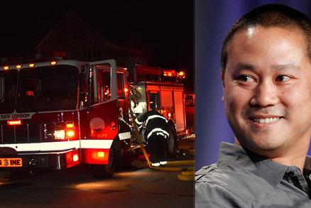 Podivná smrt miliardáře Hsieha (†46) při požáru: Zveřejnili příčinu, dům ale zvenčí vypadá netknutý