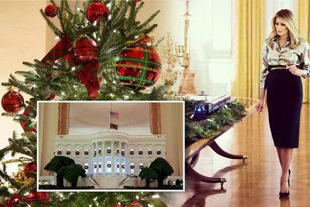 """""""Je mi to u p*dele, ale musím."""" Trumpová naposledy zdobila Bílý dům na Vánoce"""