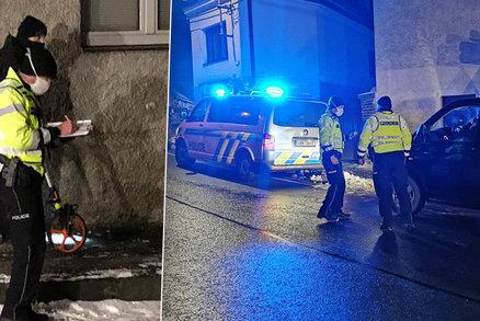 Tragická událost ve Velkých Popovicích: Na silnici ležel muž, řidič BMW ho přejel