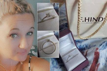 Sestřička prodává zásnubní prsten: Snoubenec jí byl nevěrný s prostitutkou a okradl dementního tchána