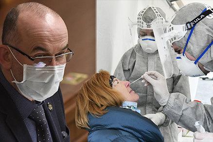 Koronavirus ONLINE: 7860 případů za pondělí. A Blatný znovu hrozí umrtvením o Vánocích