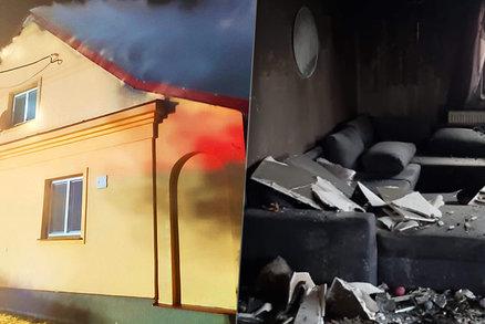 Rodině z Dvorců shořel dům pár dní před Vánocemi: Obec organizuje pomoc, zapojit se může každý