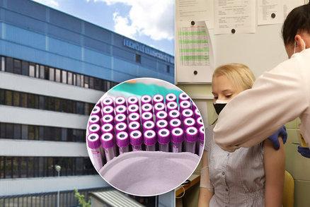 Očkování proti covidu v Praze: V Motole se tvořily fronty, ve VFN už očkují druhou dávku