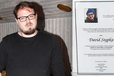 PŘÍMÝ PŘENOS: Pohřeb zpěváka Davida Stypky (†41), který podlehl rakovině slinivky a covidu