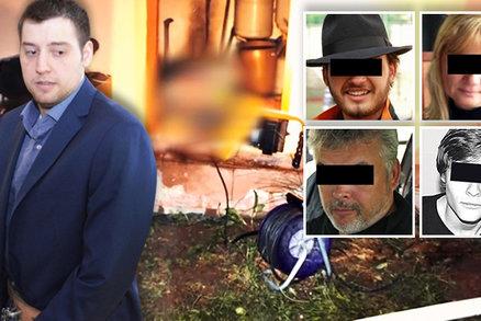 Kevin Dahlgren (†25) před osmi lety chladnokrevně vyvraždil brněnskou rodinu: Mohly za to prý hlasy v hlavě