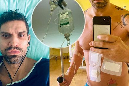 Pohublý Petr Vojnar stále leží v nemocnici se slinivkou: Neztrácí naději! Ale...