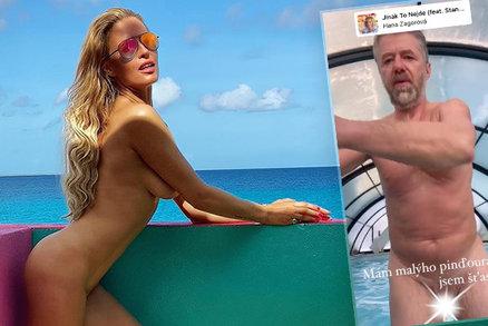 Když dva dělají totéž...: Krainová ukázala luxusní tělo, Langmajer pinďoura