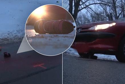 Obrovské neštěstí: Auto srazilo při sáňkování malou Danielku (†6), nehodu nepřežila