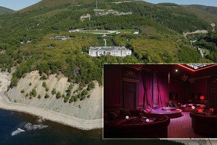 Putinovo sídlo za 30 miliard: Nechybí striptýzový bar, kasino nebo vlastní hraniční přechod