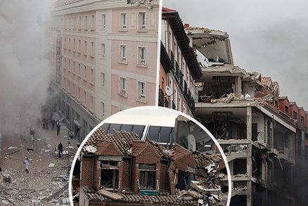 Masivní exploze domu v Madridu: Mezi mrtvými je i elektrikář David (†35)