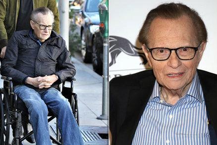 Legendární moderátor Larry King (†87) zemřel: Před smrtí chytil covid