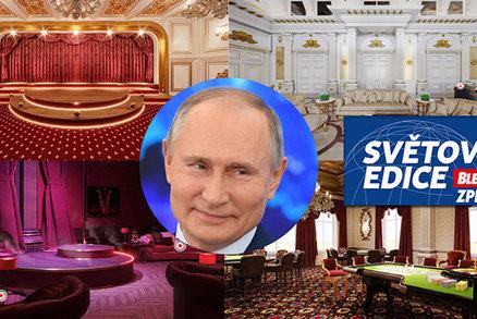 Uvnitř Putinova tajného paláce: Aktivista popsal miliardový luxus, vinice i amfiteátr