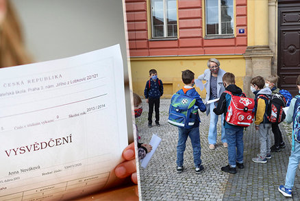 Vysvědčení v Praze: Místo známek slovní hodnocení? Školy budou žákům dávat oboje, vyplývá z ankety