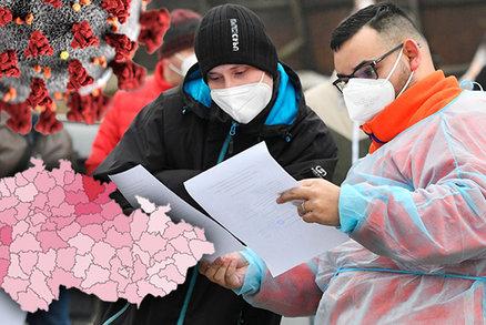 Koronavirus ONLINE: 10 165 nakažených za den v ČR. A Trutnovsko už ovládla britská mutace
