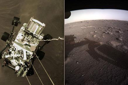 Vozítko z Marsku poslalo nové fotky rudé planety. NASA čeká i na zvukový záznam