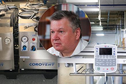 Švagr o krizových zásobách ČR: Zbývá pár ventilátorů, ubyly i přístroje pro oxygenní terapii