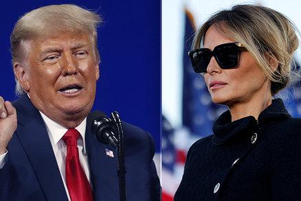 Trump se nevzdává. Naznačil novou prezidentskou kandidaturu, Melania znovu první dámou?