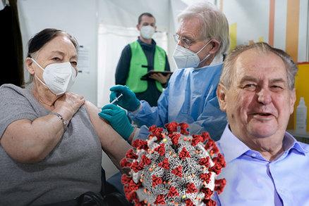 Zeman dává pandemii šest měsíců. Konec vyhlíží i Němci, mutacím navzdory