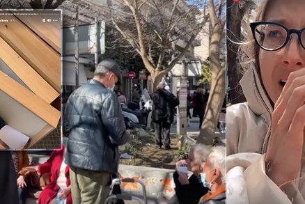 """""""Nevěděla jsem, jestli umřeme."""" Otřesy v Řecku zasáhly i modelku Nováčkovou, rozplakala se"""