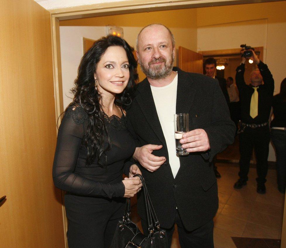 Lucie Bílá má s Petrem Kratochvílem syna Filipa.