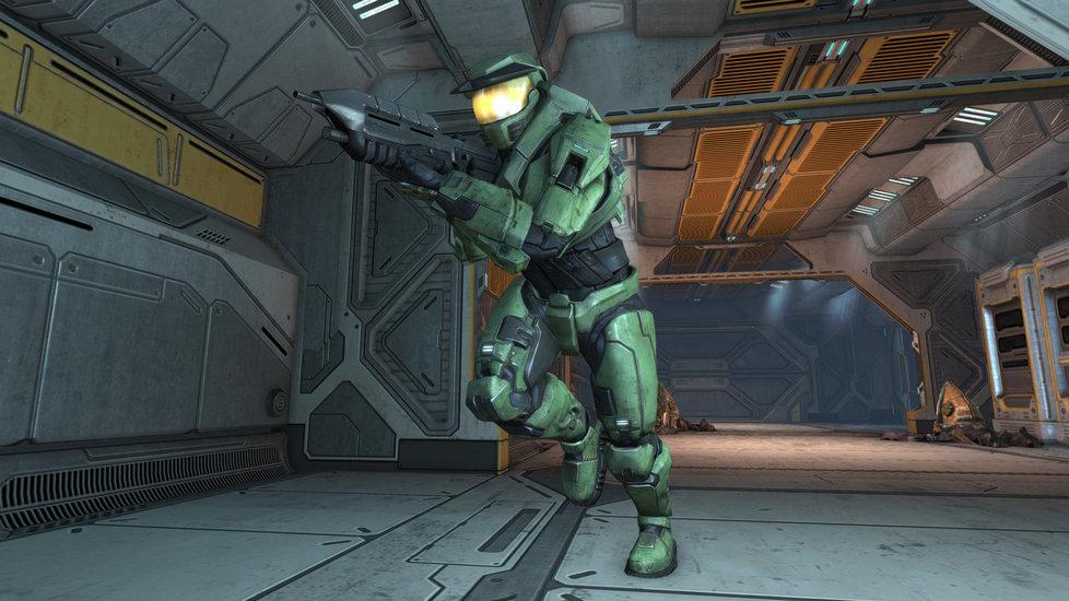 V remaku Halo se chopíte role Master Chiefa, geneticky a technologicky vylepšeného vojáka