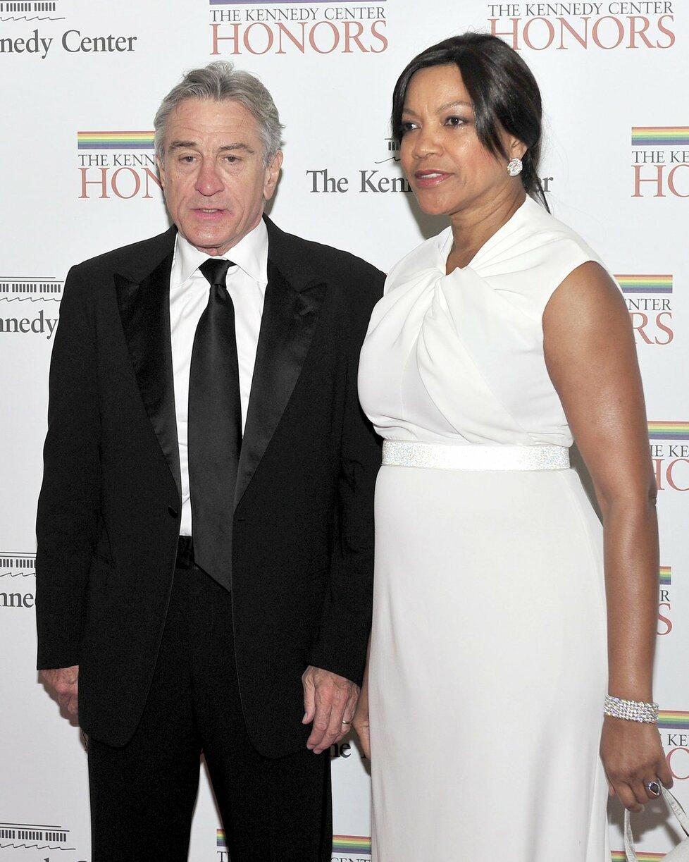 Robert De Niro s manželkou Grace mají holčičku.