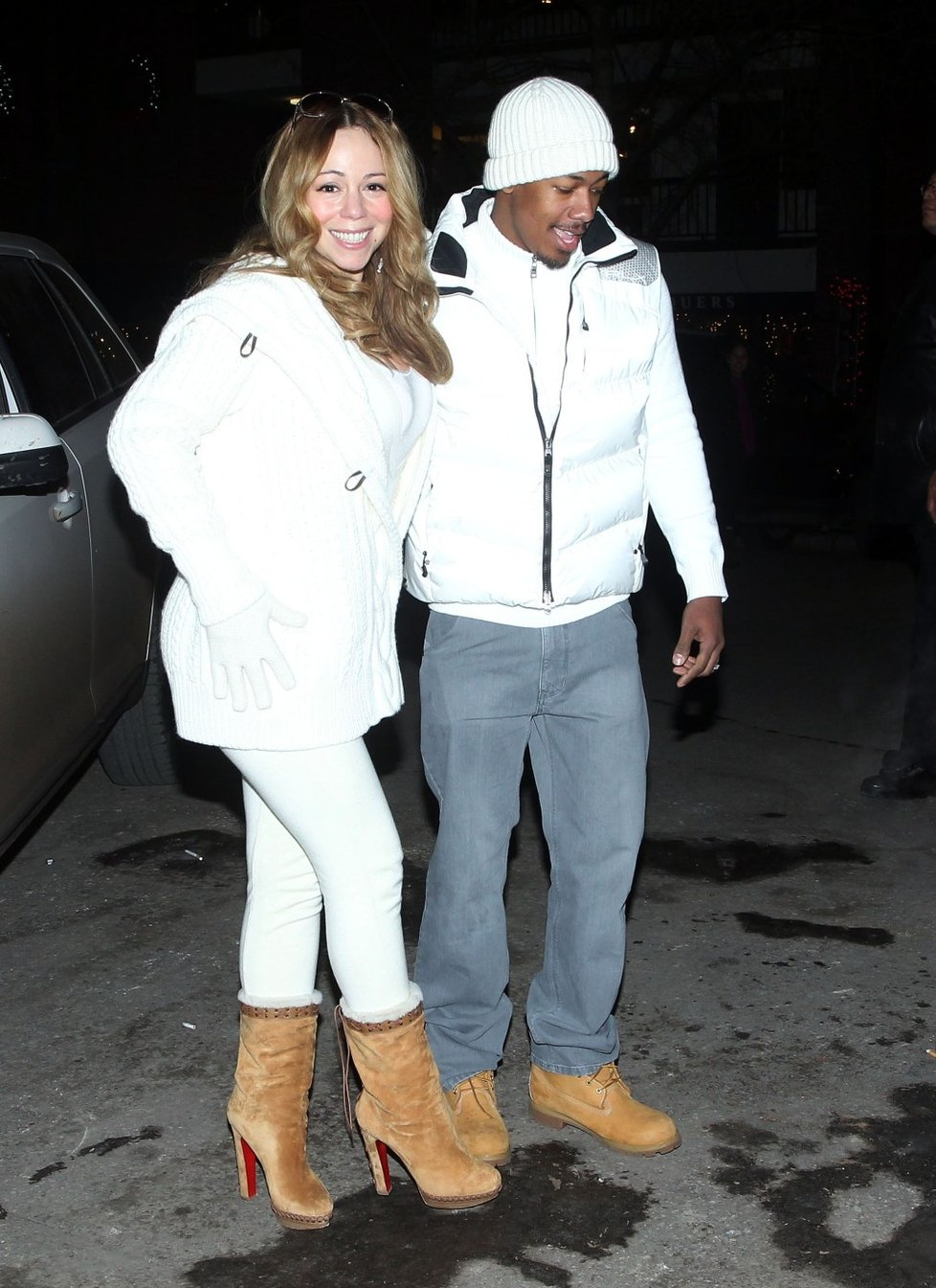 Mariah Carey s manželem.