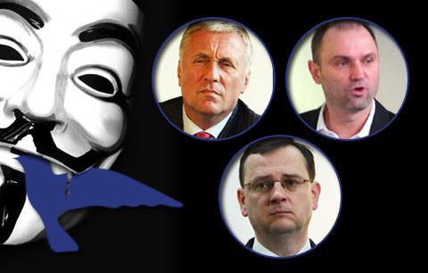 Hackeři získali adresy, telefony  a e-maily 27 tisíc členů ODS.