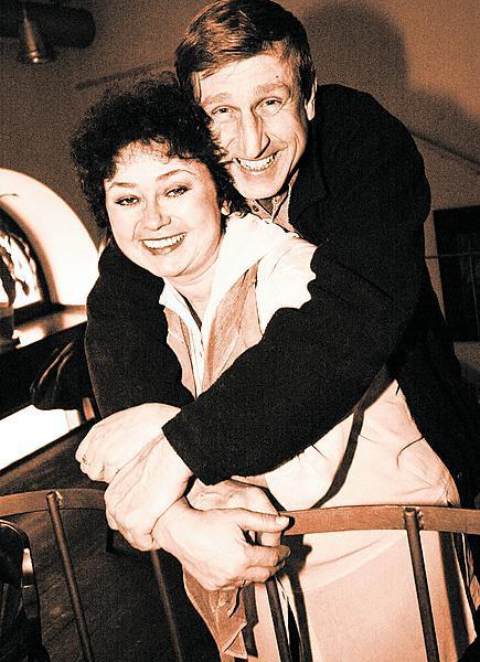 Vydra a Boušková na společné fotce z roku 1996