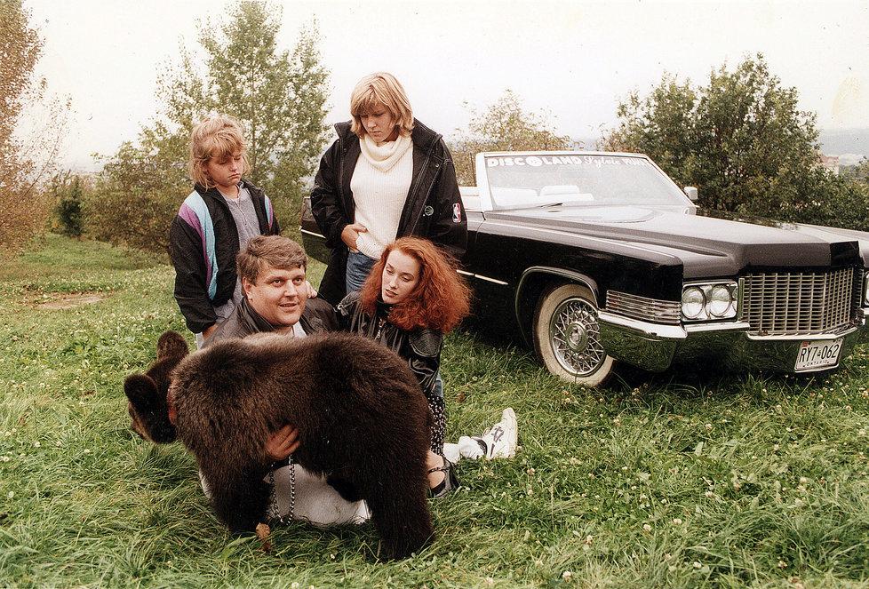 Jonák vlastnil i medvěda