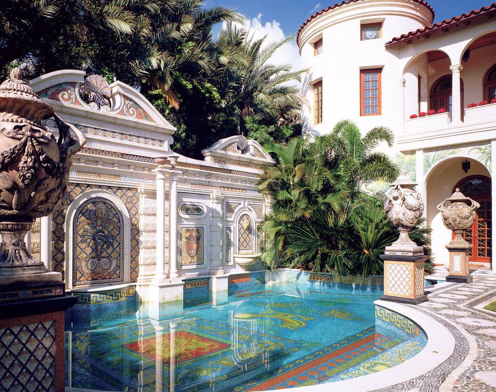 Dům, kde zemřel Gianni Versace.