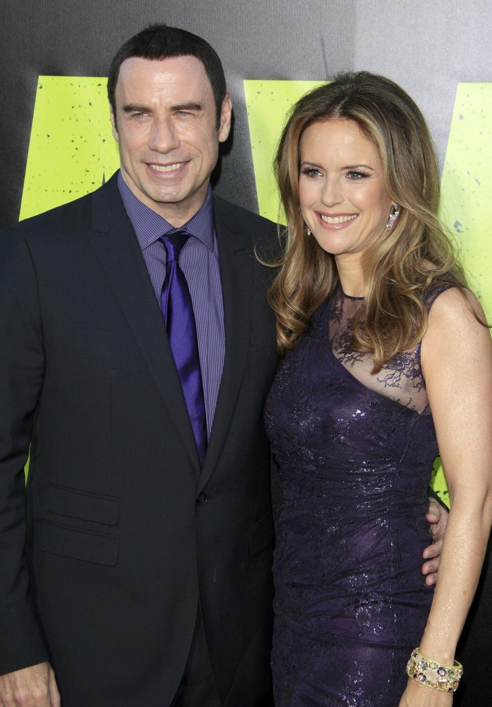 John Travolta (62) a Kelly Preston (53) se brali v roce 1991.