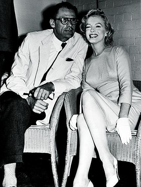 Manželství s dramatikem Arthurem Millerem vydrželo 5 let.