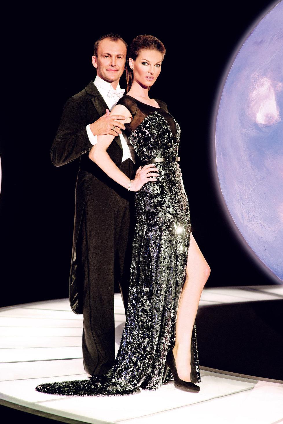 Pavlína Němcová a její taneční partner Jan Tománek