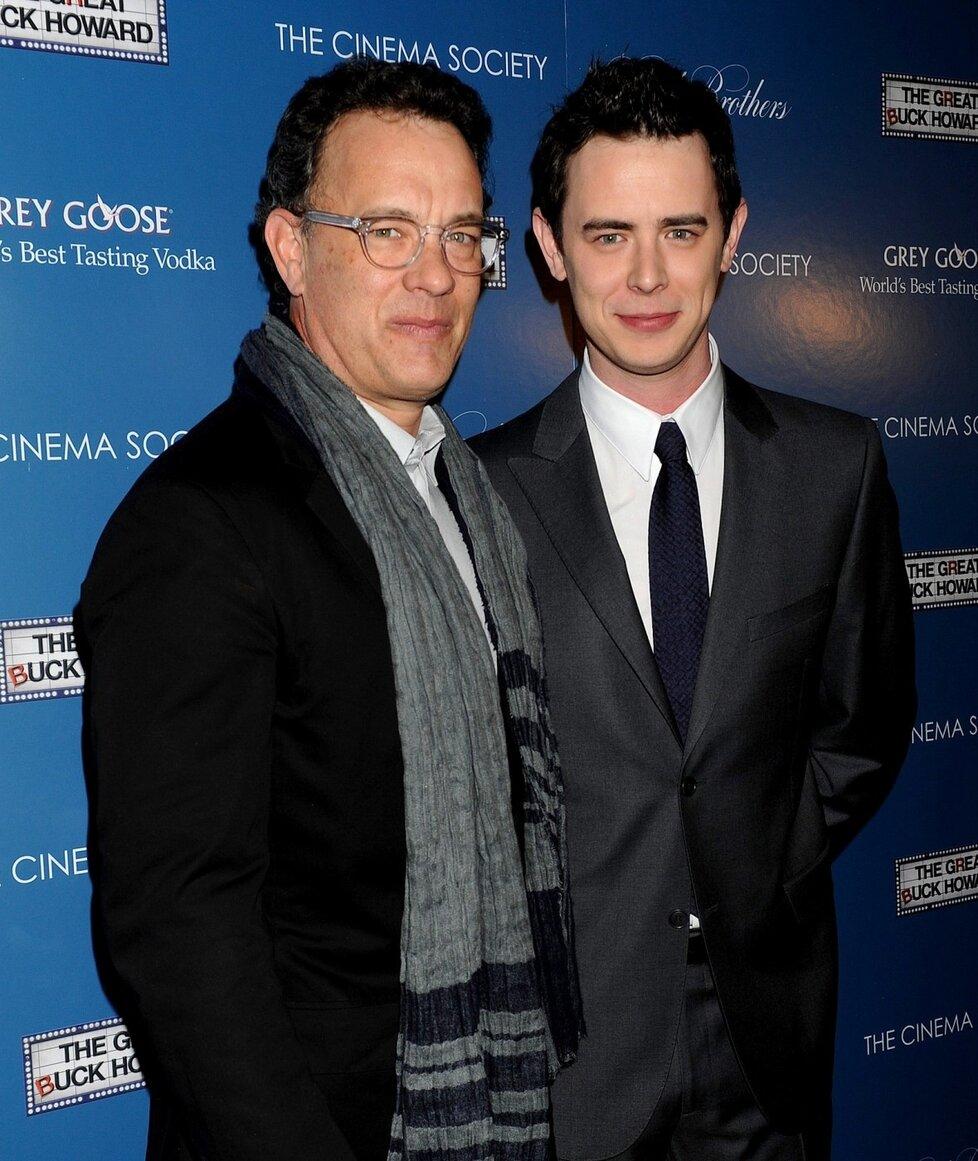 Syn Toma Hankse, Colin zdědil po svém otci opravdu moc