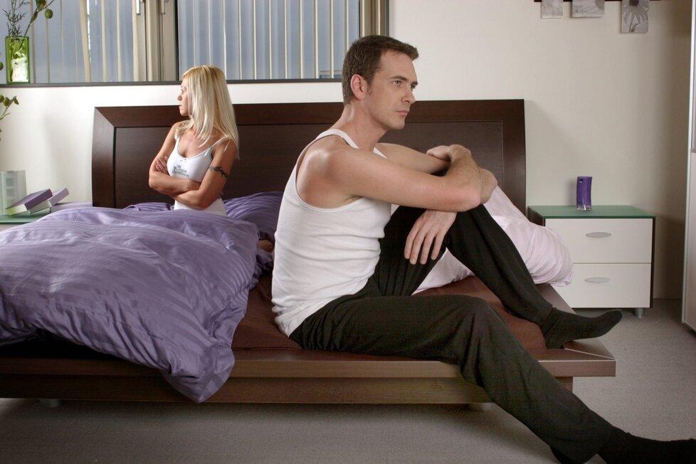 Ani chlap nemusí být neustále připraven skočit s vámi do postele.