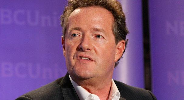 Britský moderátor Piers Morgan