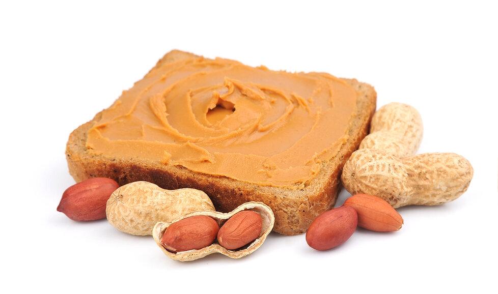 Arašídové máslo dodá tělu důležitý tuk.