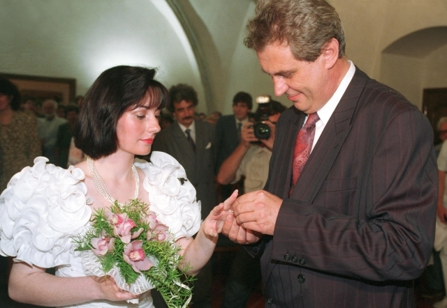 Miloš a Ivana si řekli své ano 2. srpna 1993 na Novoměstské radnici.