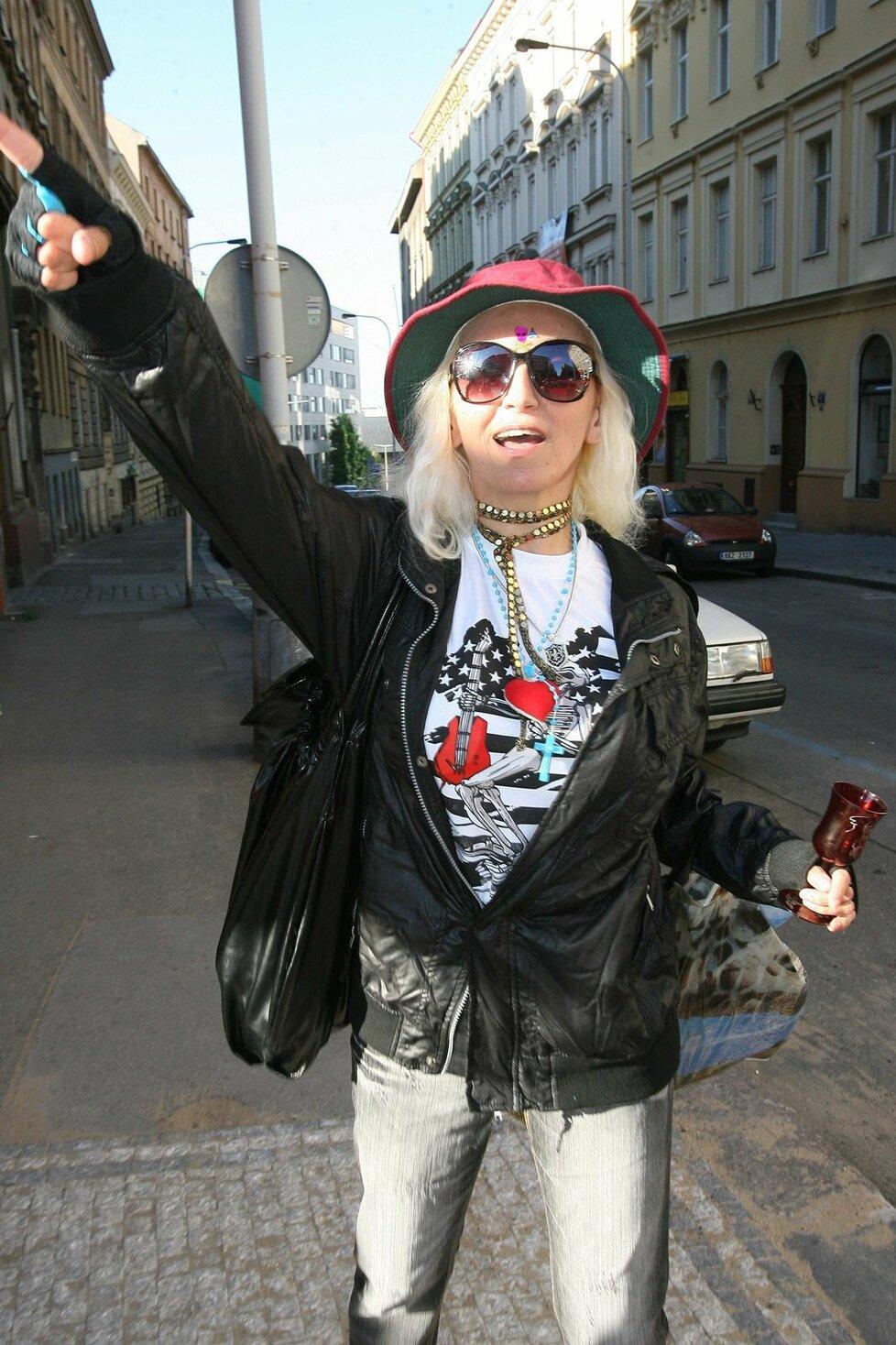 Jana Kratochvílová má scůj osobitý styl.