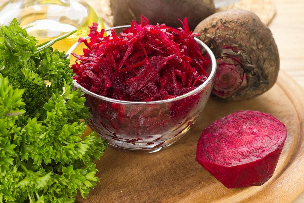 Červená řepa je ideální zimní potravina plná vitamínů.