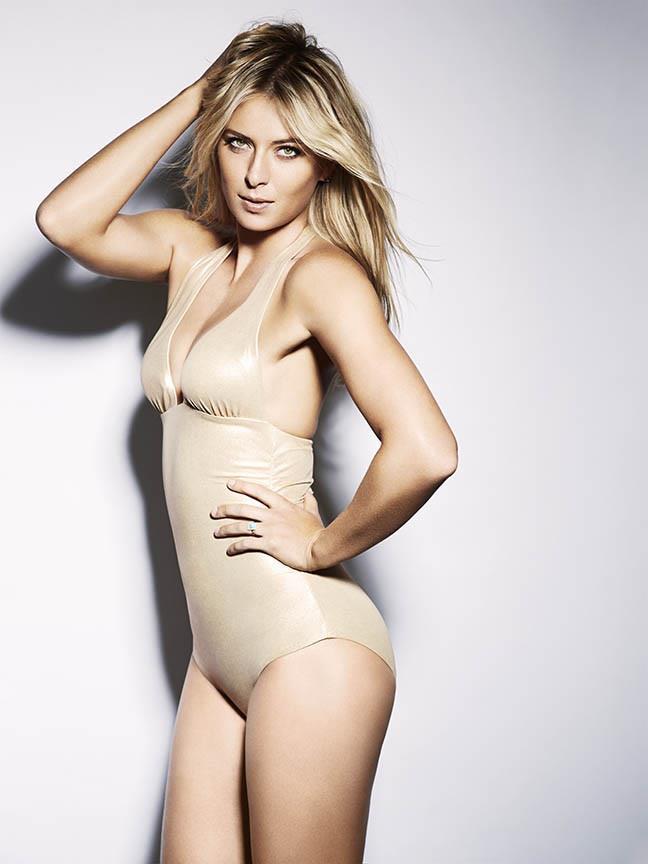 Maria Šarapovová patří k nejkrásnějším sportovkyním světa.